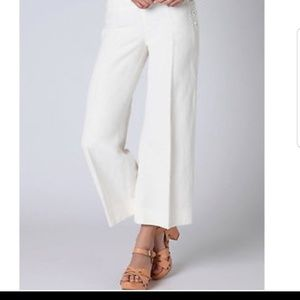 Cartonnier Anthropologie Wide Leg Crop Pants Size